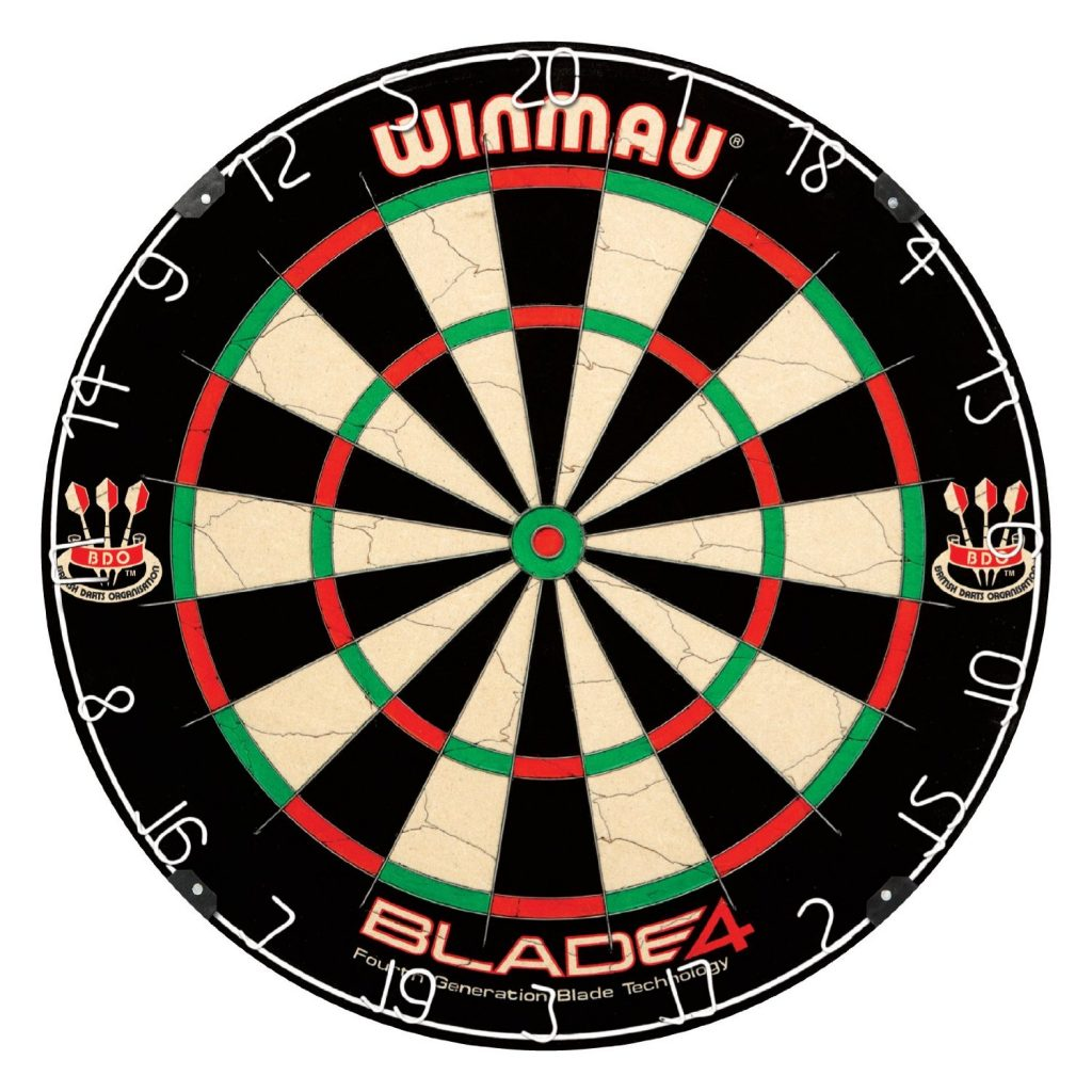 Winmau Blade 4 Bristle Dartboard Review